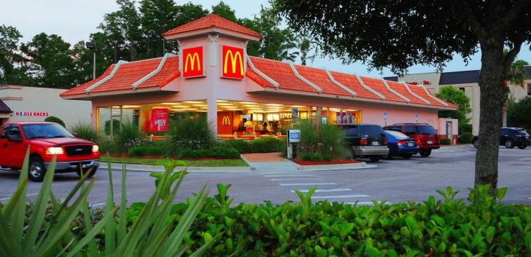McDonald's Ground Lease - Ormond Beach, Florida - Evening