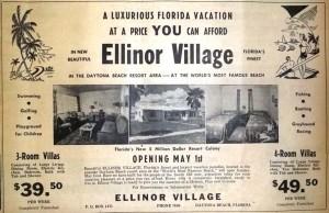 Historic Ellinor Advertisement